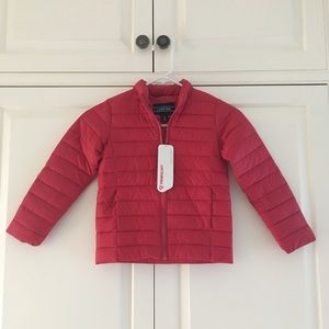 Lands' End thermoplume coat / jacket S (4) NEW